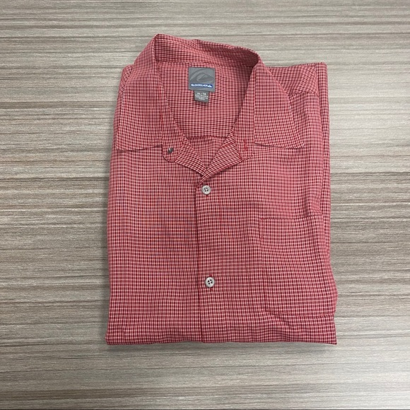 Quiksilver Other - Quicksilver plaid red shirt